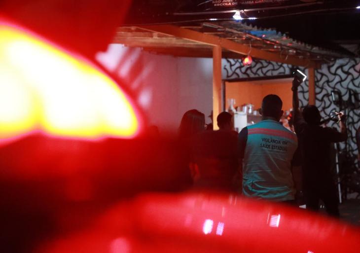 Central Integrada de Fiscalização interdita casa noturna e fecha outros seis estabelecimentos