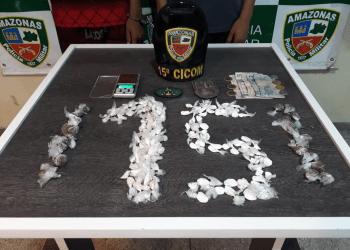 PM apreende dois adolescentes por tráfico de drogas na zona norte