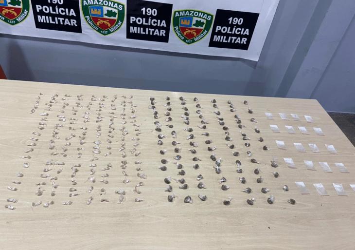 Quadrilha é presa pela Polícia Militar por tráfico de drogas na zona norte