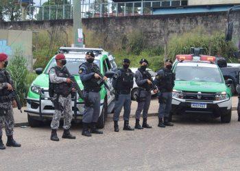 Polícias do Amazonas e a Força Nacional deflagram operação 'Mão de Ferro' na zona oeste de Manaus
