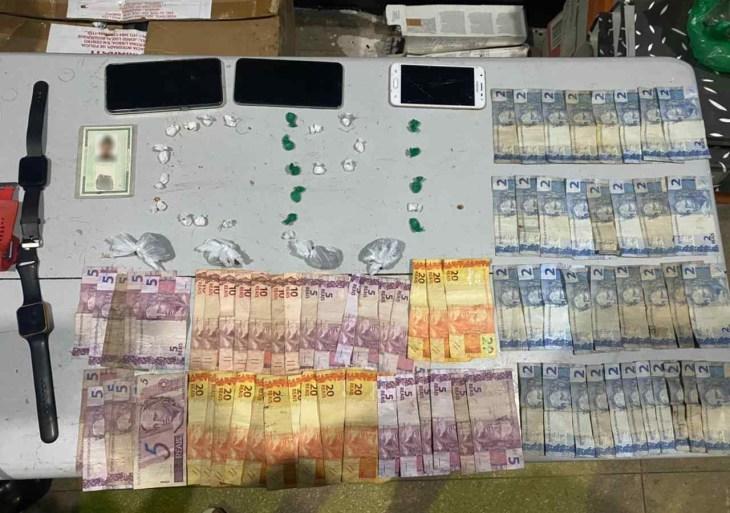 Homem é detido com drogas e dinheiro no município de Itamarati