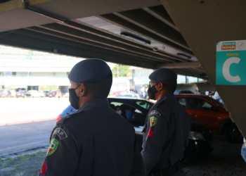 PM reforça patrulhamento e garante segurança em postos de vacinação durante a campanha 'Vacina Amazonas'