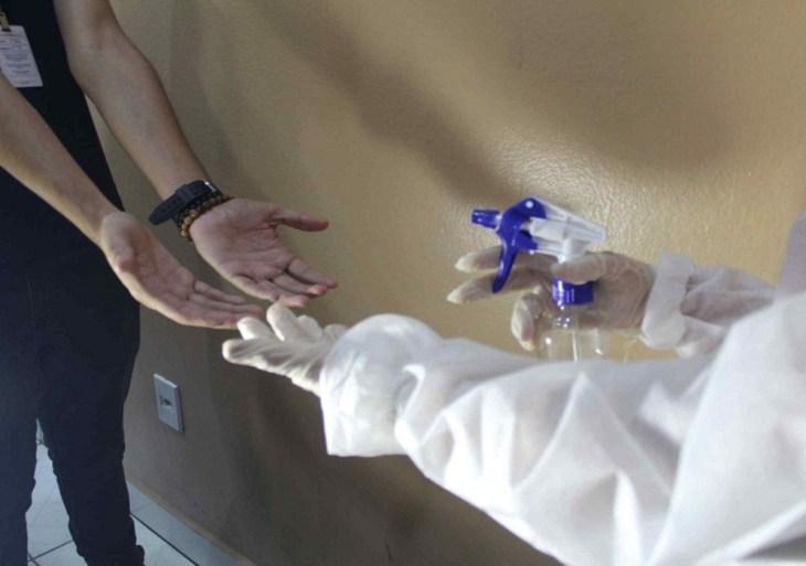 Corpo de Bombeiros produziu mais de 10 mil litros de álcool 70%