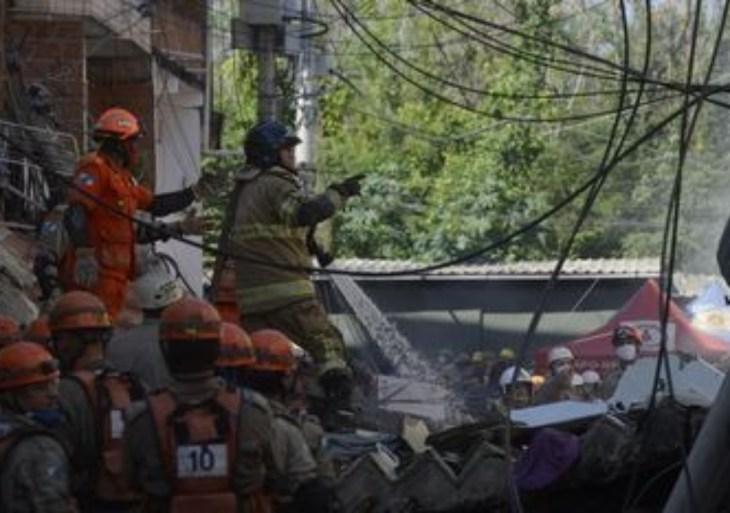 Polícia do Rio monta força-tarefa para apurar desabamento de prédio