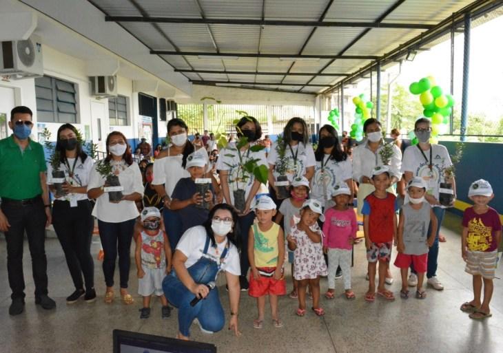 """Em comemoração ao """"Dia Mundial do Meio Ambiente"""" Amazonas Energia realiza ações socioambientais no AM"""