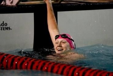 Stephanie Balduccini, nossa mais jovem nadadora olímpica em 41 anos