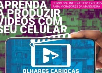 Mangueira participa de projeto Olhares Cariocas que beneficiará jovens
