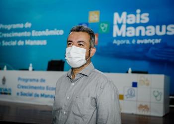Vereador Peixoto acompanha lançamento do programa de aceleração econômica e social 'Mais Manaus'