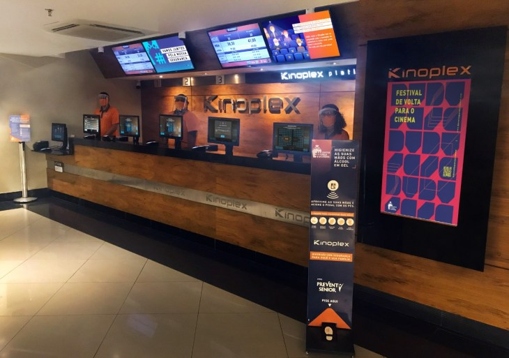 Cinema Kinoplex, do Amazonas Shopping, retoma atividades nesta segunda-feira (28)