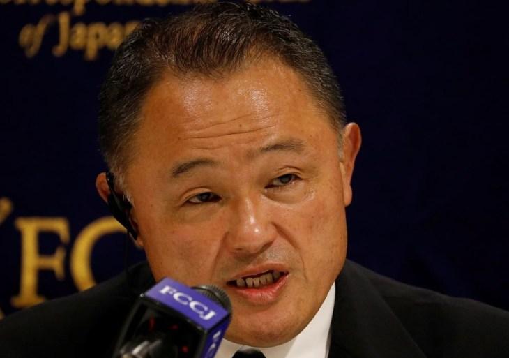 """""""Não há maneira de impedir chegada do vírus"""", diz o presidente do Comitê Olímpico Japonês"""