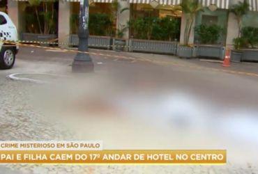 Homem pula com a filha de 6 anos do 17º andar de hotel em São Paulo