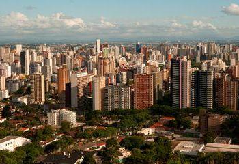 Paisagens da torre panoramica,Curitiba,Paraná