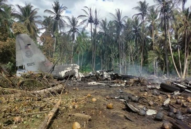 Queda de avião militar em ilha nas Filipinas mata 31 pessoas