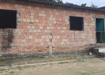 Casa onde ocorreu o crime.