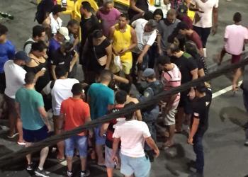 Presidiário é executado e outras quatro pessoas ficam feridas após emboscada na Praça do Caranguejo em Manaus