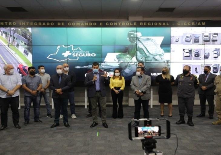 """Programa """"Amazonas Mais Seguro"""" contará com mais de 500 câmera"""