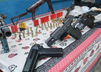 Em Iranduba, operação da SSP-AM prende cinco traficantes com arsenal