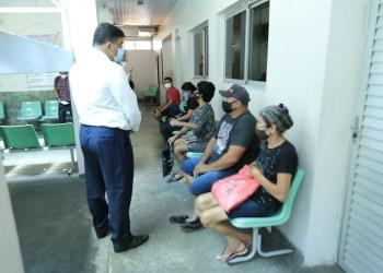 Deputado fiscaliza Policlínica Cardoso Fontes e constata que o local virou foco de contaminação de tuberculose , em Manaus