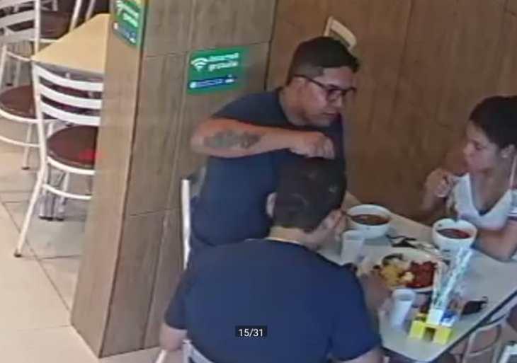 PC-AM solicita colaboração na divulgação da imagem de trio procurado por furto cometido com dispositivo 'chapolin'
