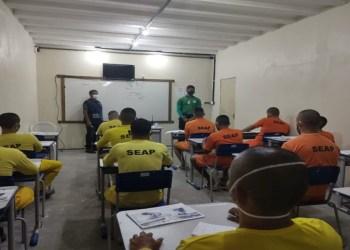 Seap e Cetam ofertam três novos cursos para privados de liberdade das unidades prisionais de Manaus
