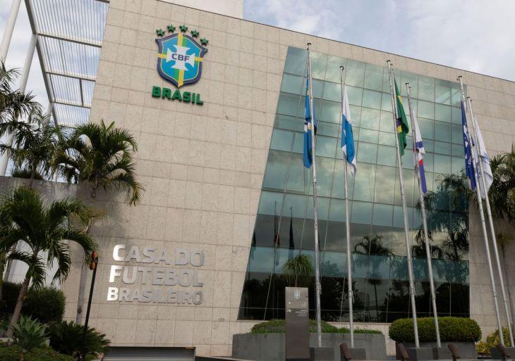 Sede da Confederação Brasileira de Futebol (CBF) na Barra da Tijuca. Foto: Lucas Figueiredo/CBF