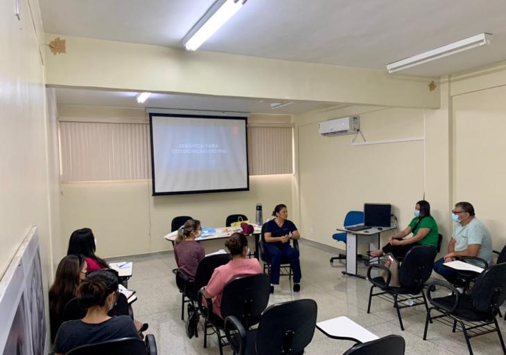 Profissionais de saúde da Prefeitura de Manaus recebem treinamento sobre inserção de DIU