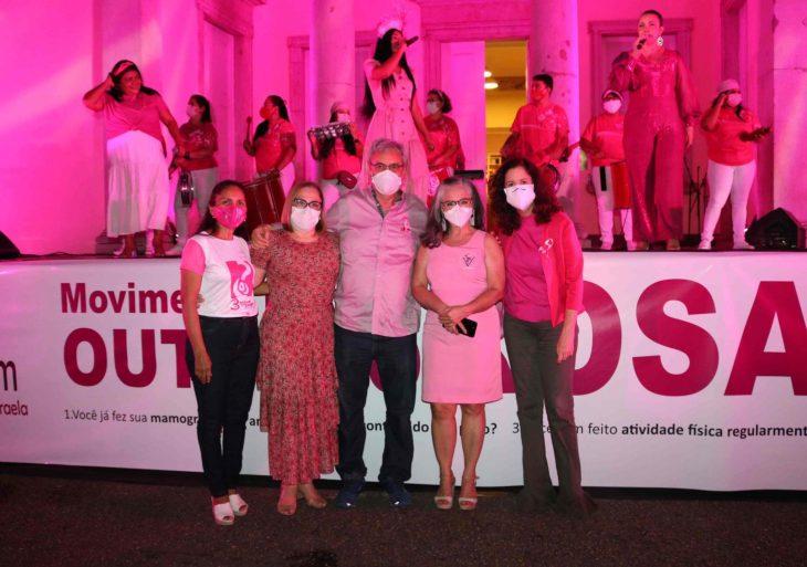 Campanha Outubro Rosa 2021 é iniciada no Amazonas e alerta sobre o câncer de mama