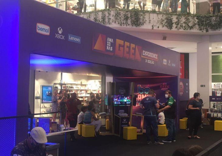 Shopping sedia campeonato de Free Fire