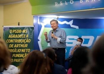 Arthur reúne jovens lideranças em campanha pela defesa da Amazônia