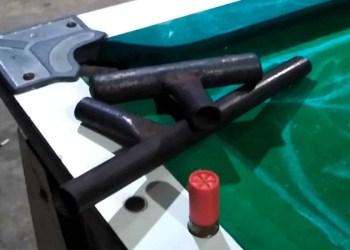 Polícia Militar apreende dois adolescentes em posse ilegal de arma de fogo artesanal