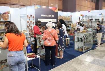Artesãos do Amazonas participam do 14° Salão do Artesanato em Brasília
