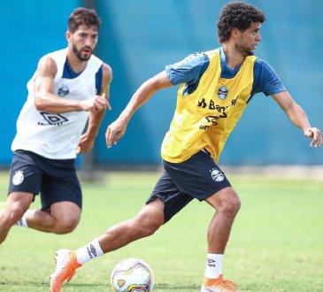 Escalação do Grêmio que enfrenta o Brasil