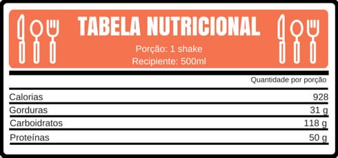 TABELA NUTRICIONAL abacate mirtilo