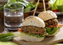 Como fazer hambúrguer de linhaça Musculação Vegana