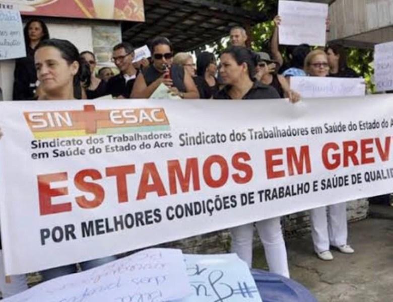 Presidente do Sindicato da Saúde ameaça greve, diz que secretária trata servidores como lixo e culpa Gladson Cameli