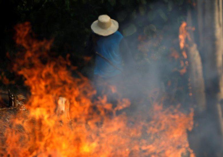 Galeria de fotos – A Amazônia arde em chamas