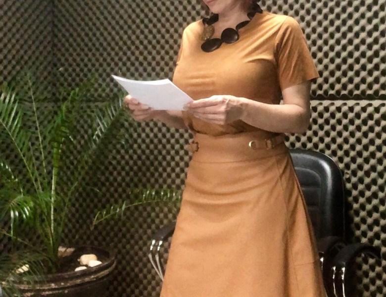 Andréa Zílio assessorando ao governador
