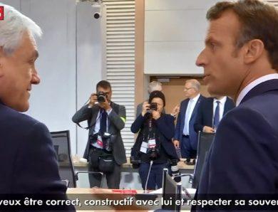 Vídeo flagra Macron dizendo que Bolsonaro não tem comportamento de presidente