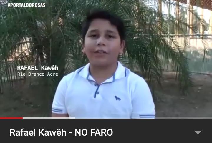 Menino de 10 anos pede ajuda a Rodrigo Faro para manter projeto de cinema vivo