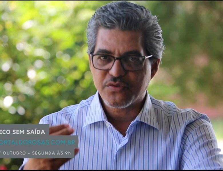 """Portal do Rosas estreia """"Beco sem Saída"""" nesta segunda-feira; Edvaldo Magalhães é o primeiro entrevistado"""