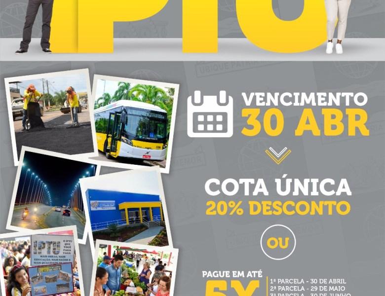 IPTU 2020: Prefeitura de Rio Branco garante 20% de desconto para quem pagar em parcela única