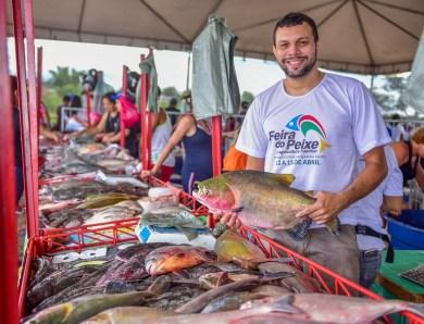 Produtores de Rio Branco deverão comercializar 120 toneladas de pescado durante a Feira do Peixe deste ano