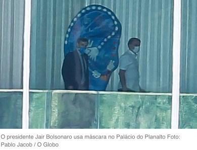 Teste de Bolsonaro para novo coronavírus dá negativo