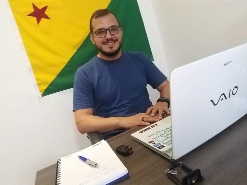 Rodrigo Forneck propõe a realização de audiências públicas onlines na Câmara de Rio Branco
