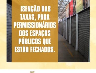 Socorro Neri garante prorrogação de prazos e isenção no pagamento de impostos municipais