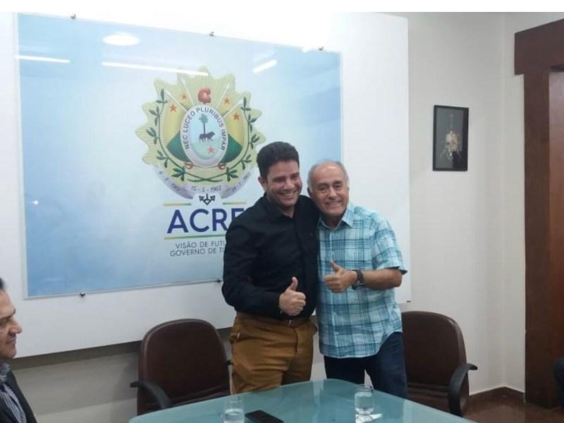 Desafeto de Rocha, Bocalom pode ser o candidato de Gladson à prefeitura