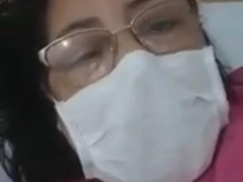 Mulher que foi a óbito por coronavírus gravou vídeo relatando as dores provocadas pela doença