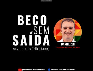 Beco sem Saída: Daniel Zen é o entrevistado de hoje no Portal do Rosas no YouTube