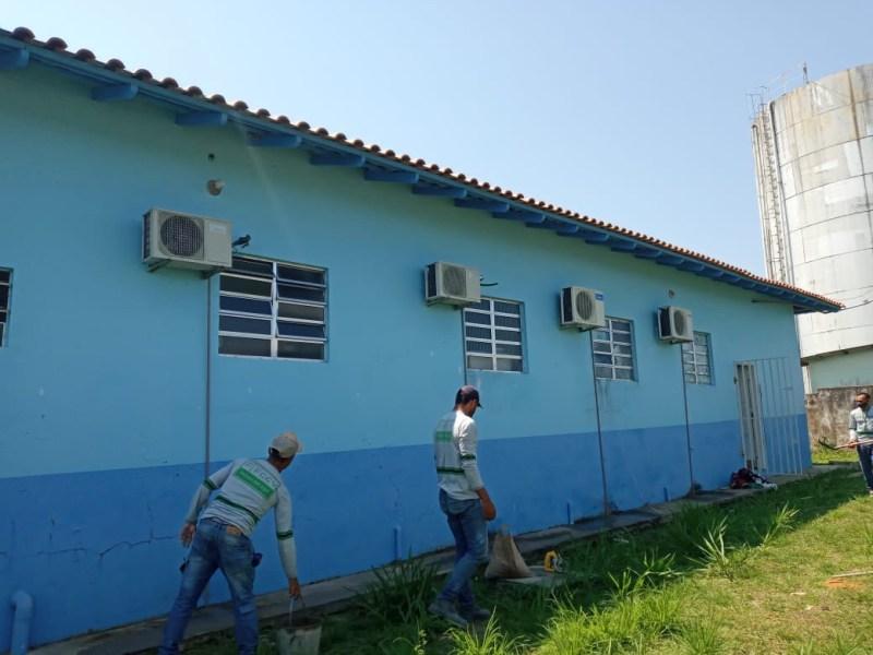 FCCV realiza serviços de melhoria e manutenção na UBS do bairro Cruzeirão