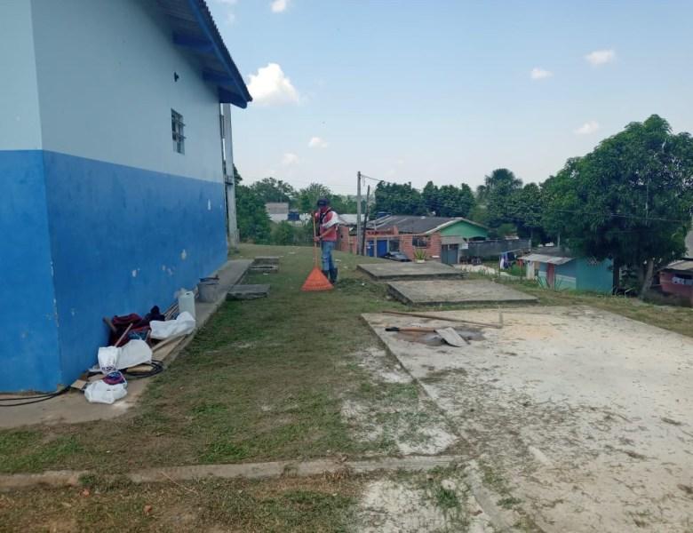 FCCV realiza serviços de melhoria e manutenção na UBS do bairro Remanso